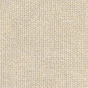 cream colored knit