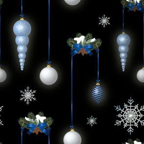 Christmas Balls (Black)