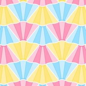 02597756 : skirt rippled 2j