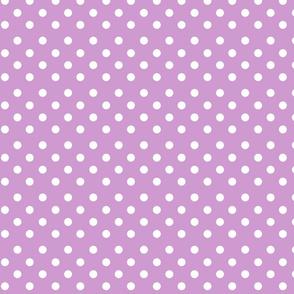 Violet Polkadots