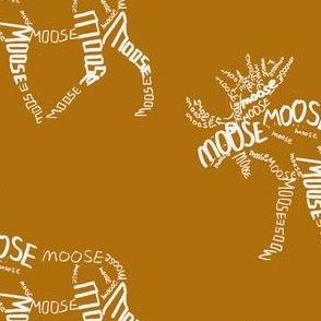 Moose Calligram