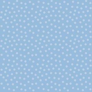 mitten dots shadow blue