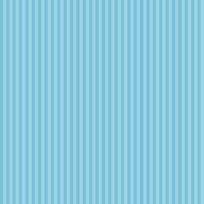 skinny mitten stripes - sky blue