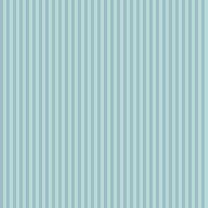 skinny mitten stripes - stormy blue
