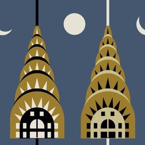 Chrysler Building day & night