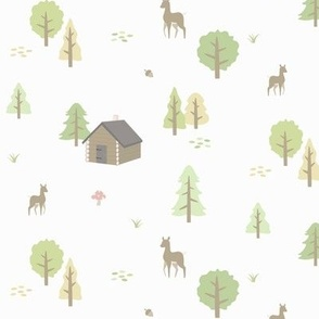 Forest Cabin - Spring