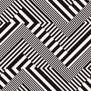 striped chevron