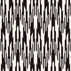 striped geometric ornament