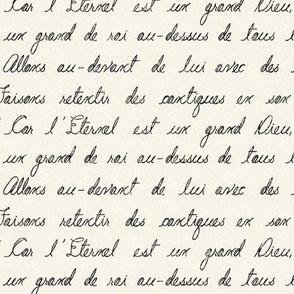 Grand French Script
