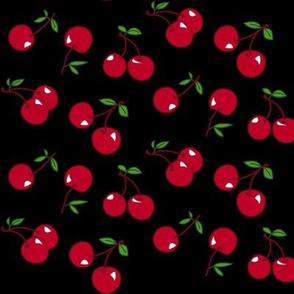 Cherries red x black