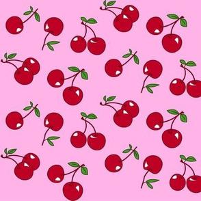 Cherries red x pink