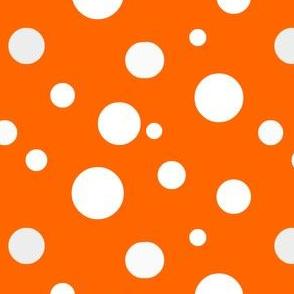 orange polka