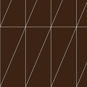 Chocolate Triangle Pattern by Friztin