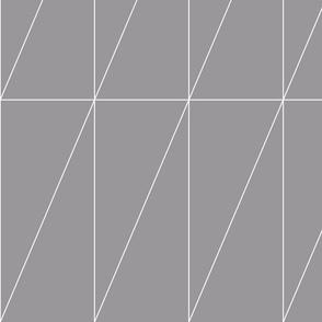 Grey Triangle Pattern by Friztin