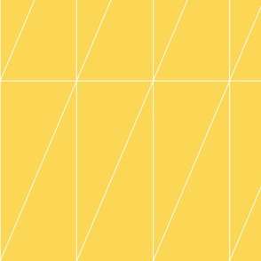 Yellow Triangle Pattern by Friztin