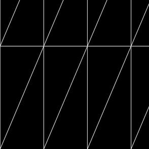 Black Triangle Pattern by Friztin