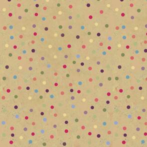 Retro Kitty / Dots