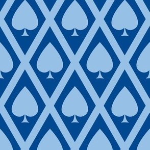 Umbria's Spades in Blue