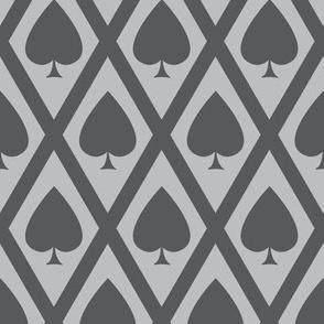 Umbria's Spades in Gray
