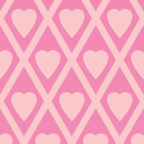 Valentina's Hearts in Pink