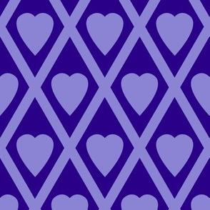 Valentina's Hearts in Purple