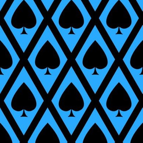 Umbria's Spades in Black and Blue