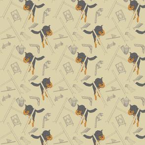 Agility Beaucerons - khaki