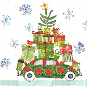 Haulin' Bug Christmas Tree