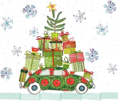 Haulin' Bug Christmas Tree