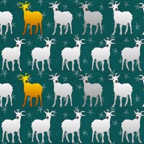 golden goat