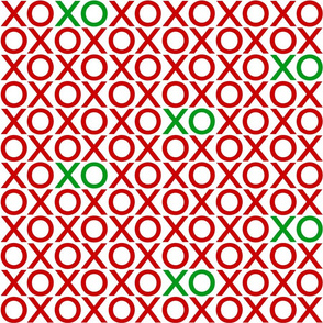 XOXO : red + green : big
