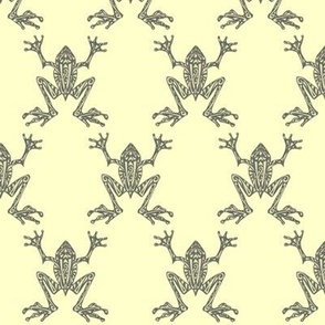 Fabulous Frogs - Pistachio (small-scale version)