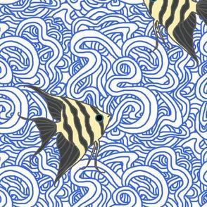 Weird Fishes (Angelfish)