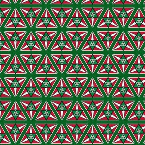 geometric peppermint
