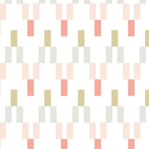 Ombre Ikat in Brights