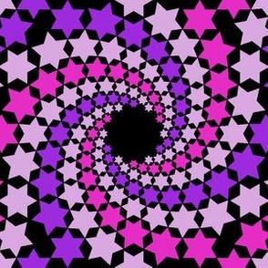 02637917 : mandala12 : madly spiralling stars
