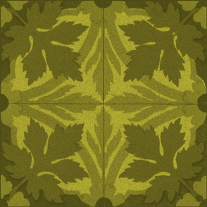 Summer Leaves ~ Tiles