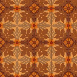 Autumn Leaves ~ Tiles
