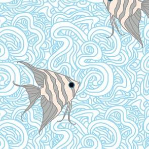 Weird Fishes (Angelfish Light)