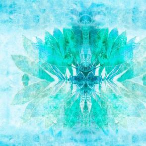 Frangipani sun_blue