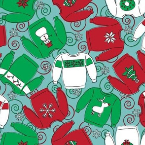Holiday Party Sweaters