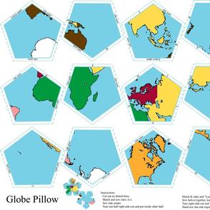 Fat Quarter Globe
