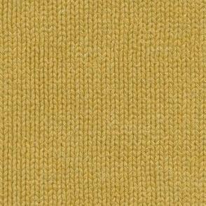 yellow gold knit
