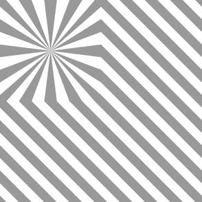 Stripes explosion - Grey