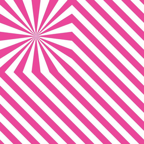 Stripes explosion - Pink