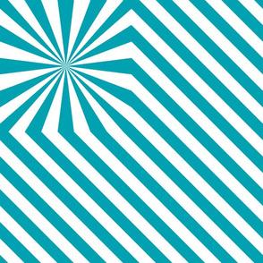 Stripes explosion - Blue