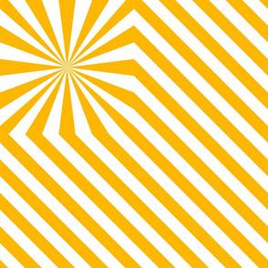 Stripes explosion - Yellow