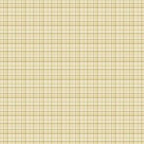 Spring Plaid - gold