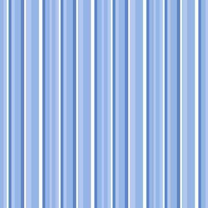 Spring Stripes - blue