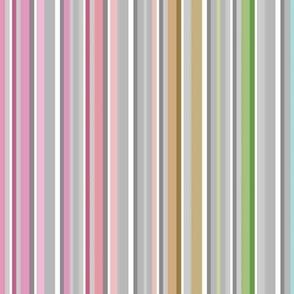 Spring Stripes - rainbow